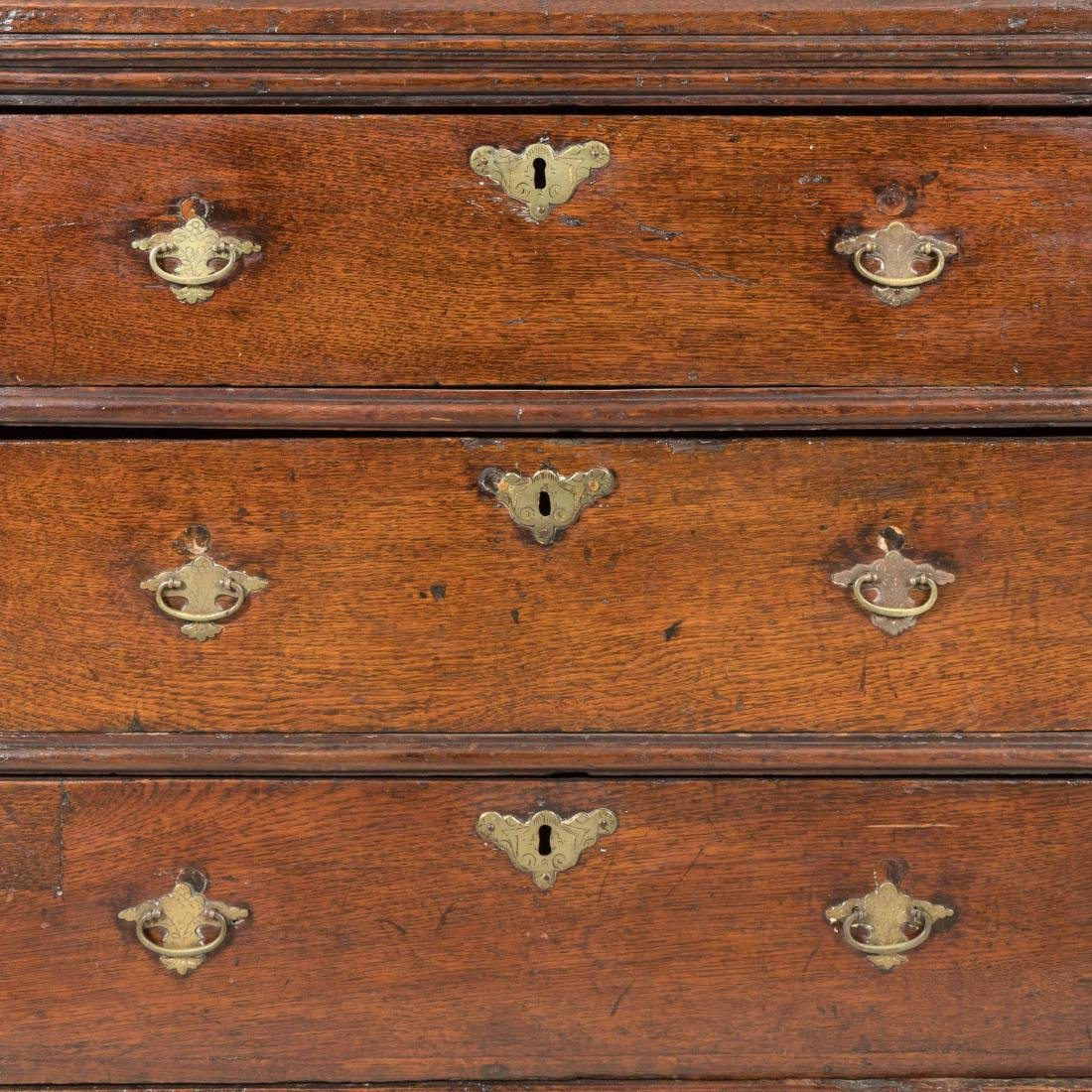 Antique Three Drawer Chest - 4
