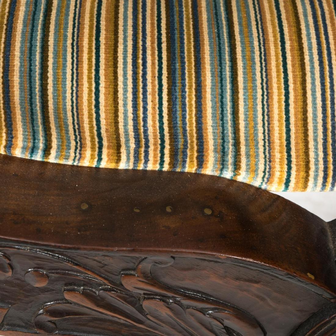 Figural Carved Savonarola Chair - 4