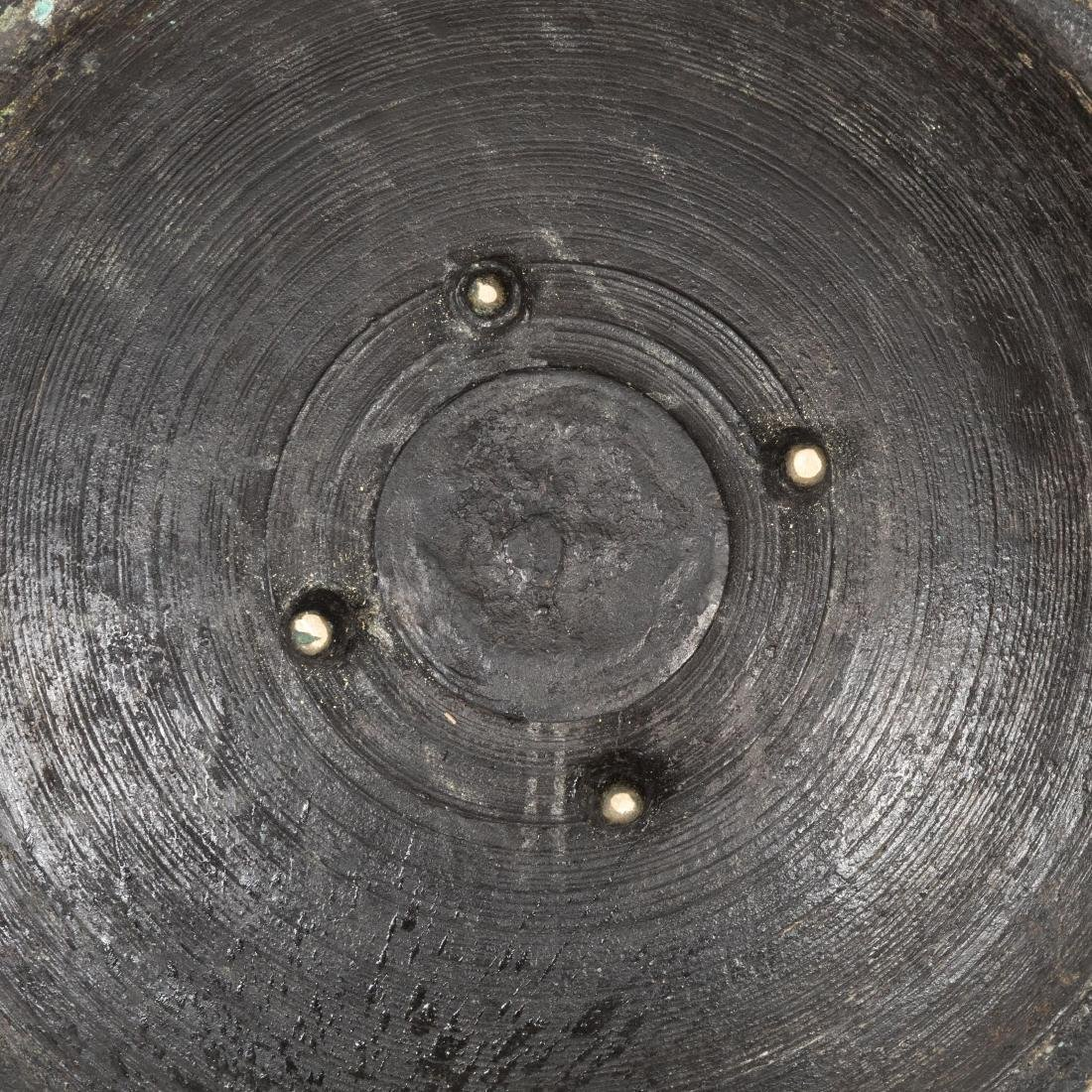 Three Large Chinese Bronze Vessels - 5