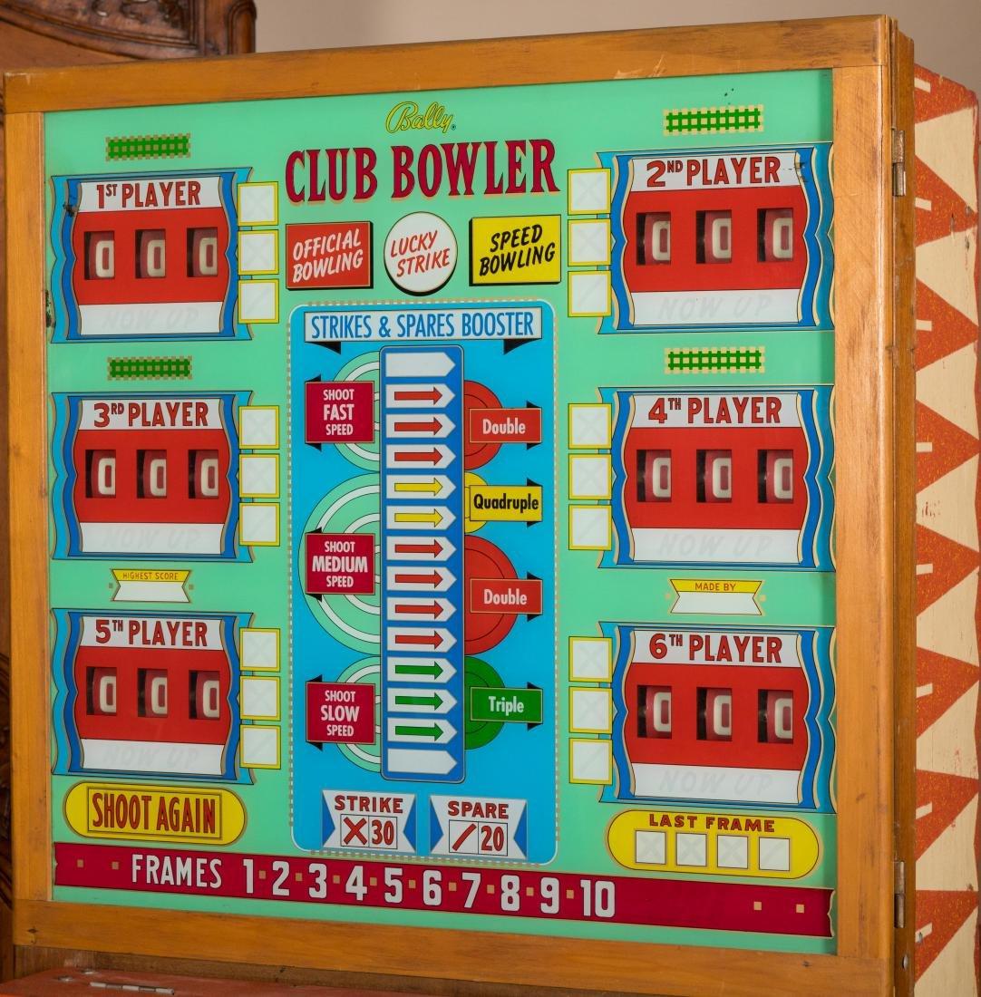 Bally Lucky Strike Bowling Machine - 4