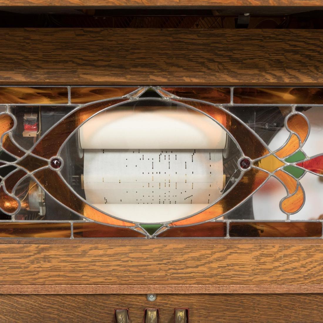 Hobart Oak Coin-Op Player Piano - 3
