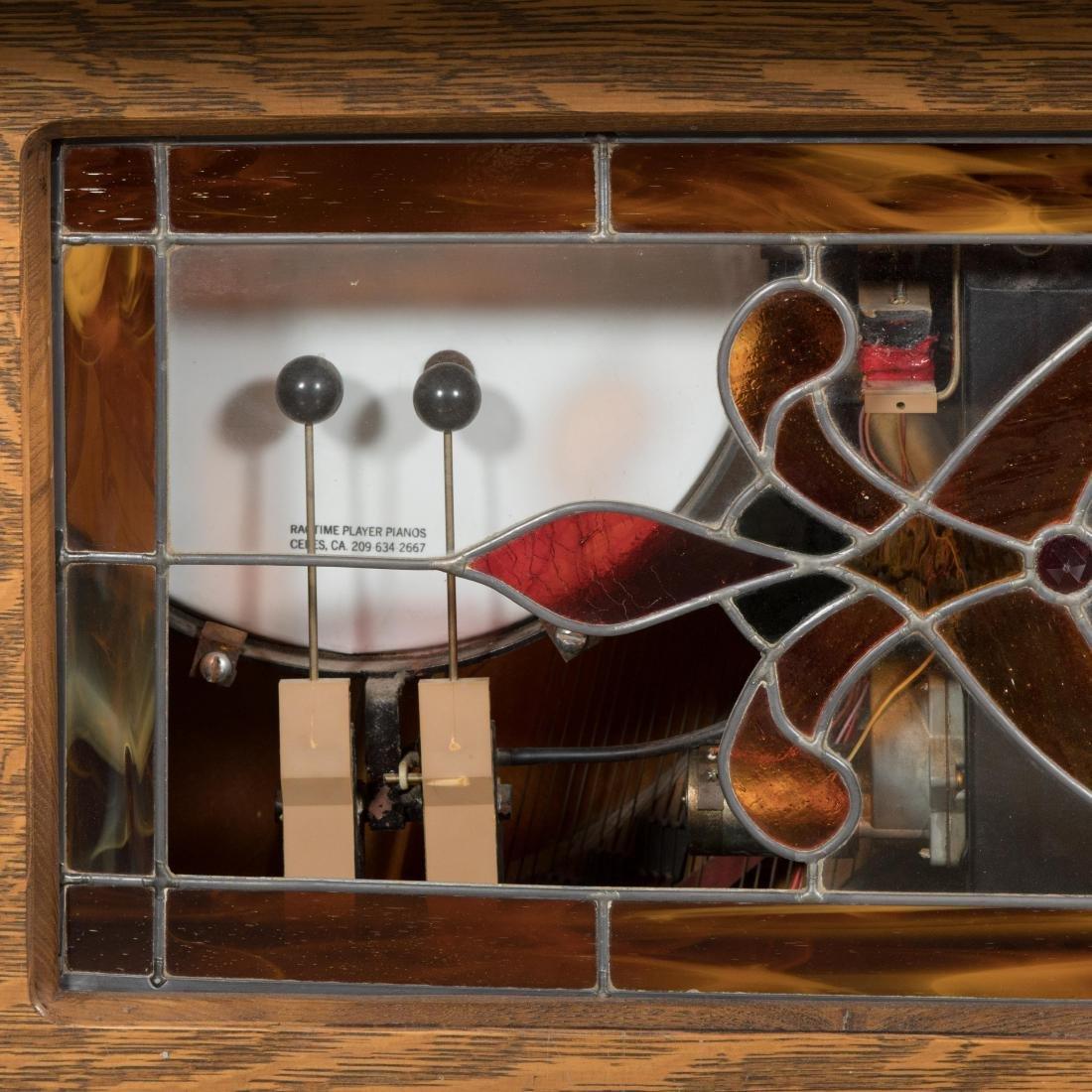 Hobart Oak Coin-Op Player Piano - 4