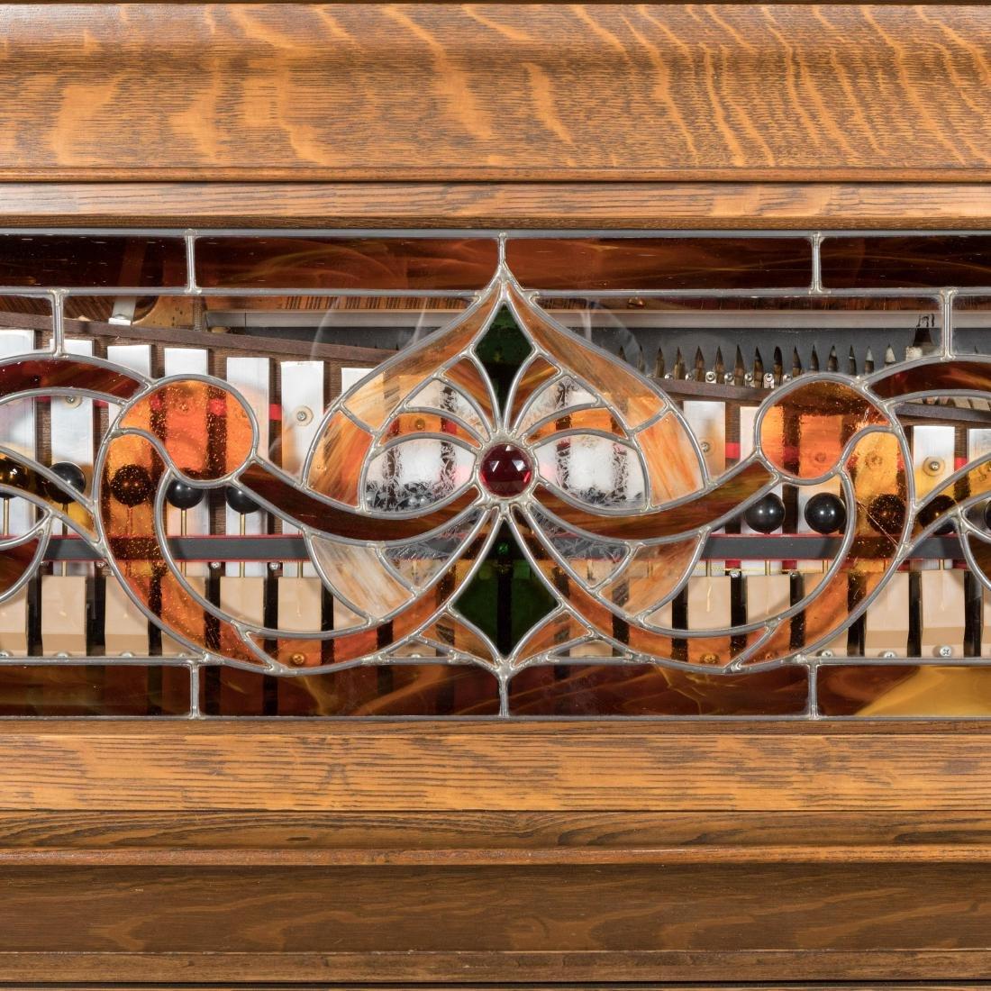 Hobart Oak Coin-Op Player Piano - 5