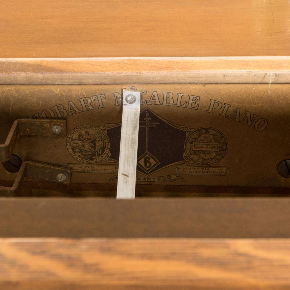 Hobart Oak Coin-Op Player Piano - 7