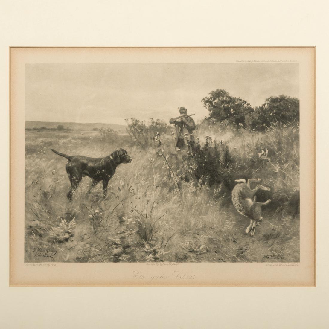 Two Franz Hanfsaengl Prints - 2