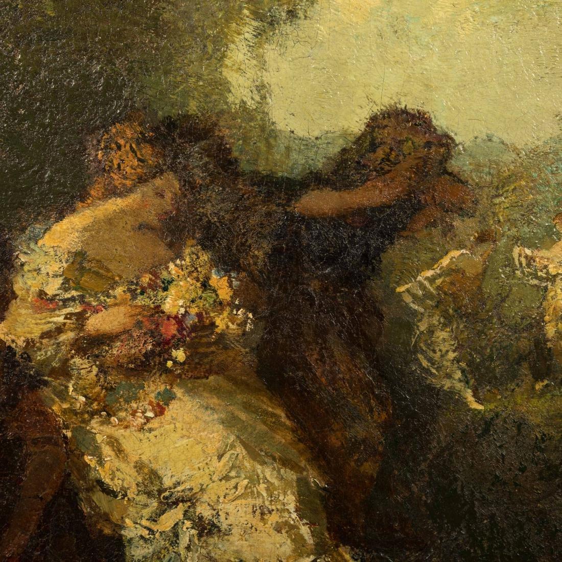 Frederick Ballard Williams - Oil on Board - 2