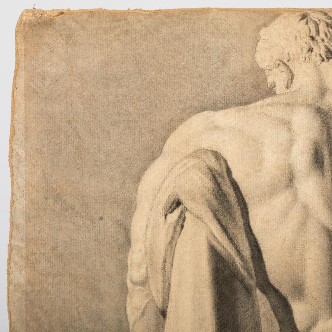 Graphite Study of Hercules - Signed - 3