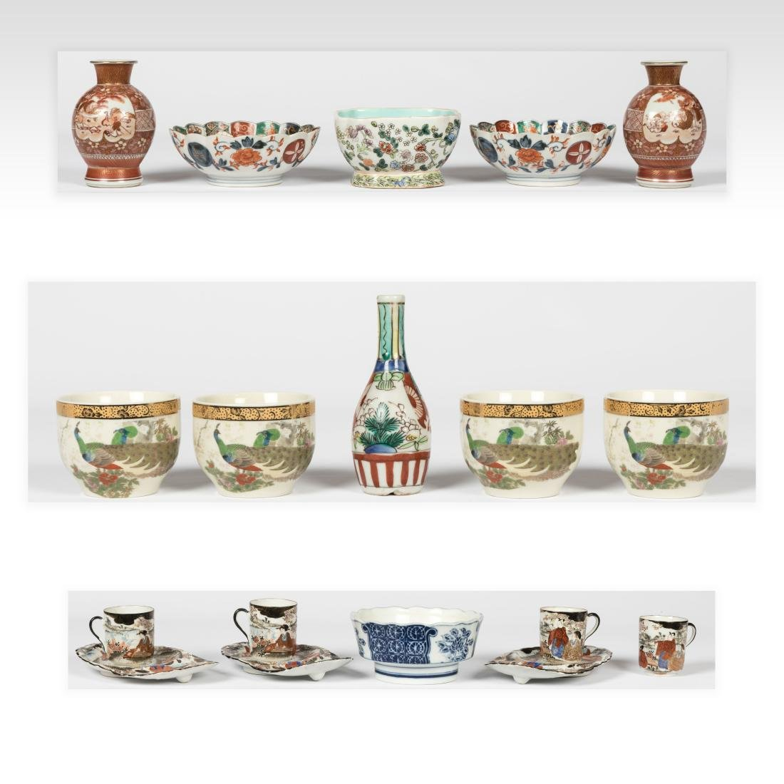 Group Oriental Porcelain