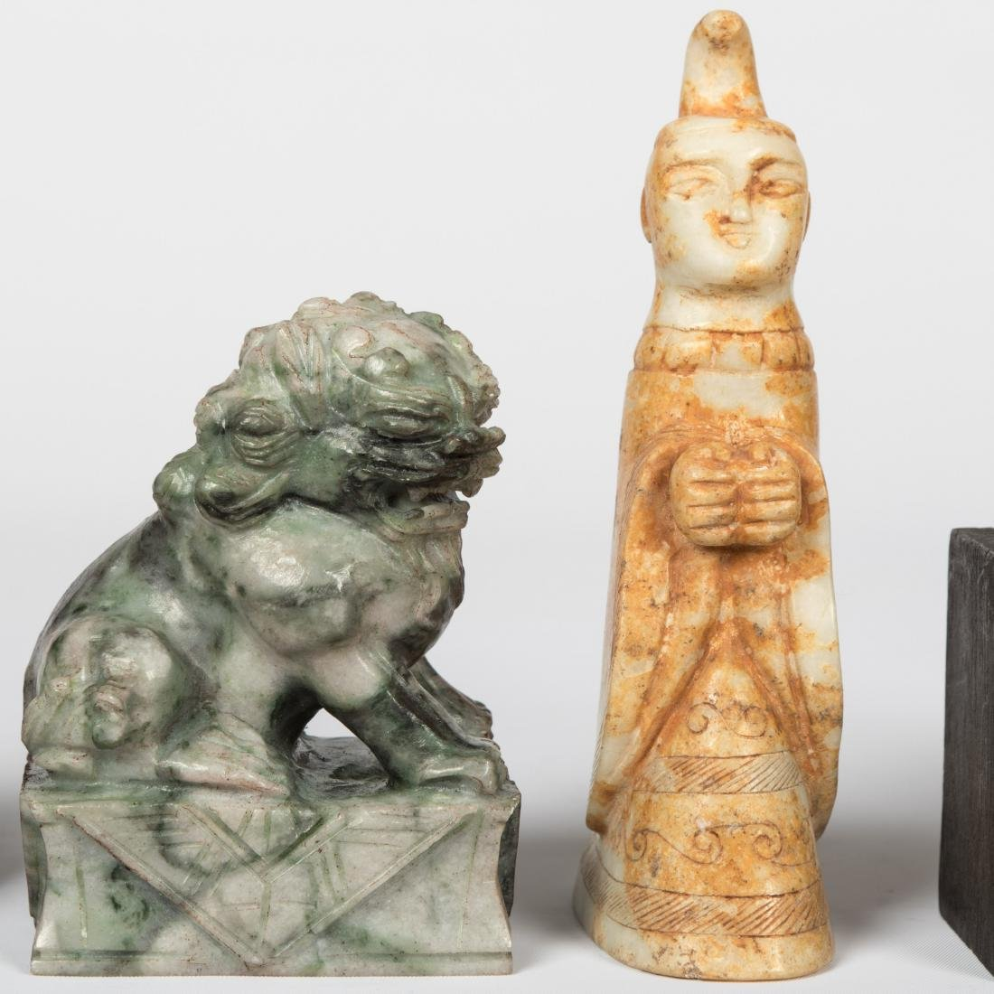 Group Hardstone Animals and Assorted Carvings - 6