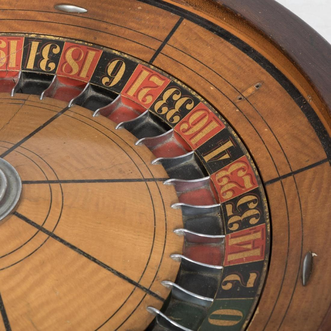 Large Roulette Wheel - 3