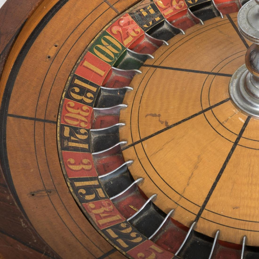Large Roulette Wheel - 4