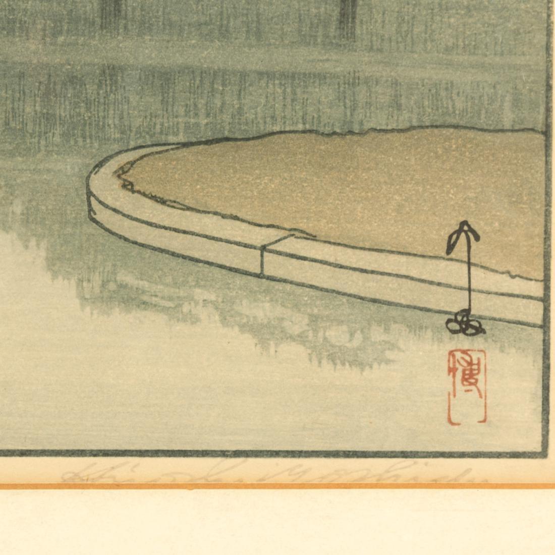 Hiroshi Yoshida - Ryu Honmura - Woodblock - 4