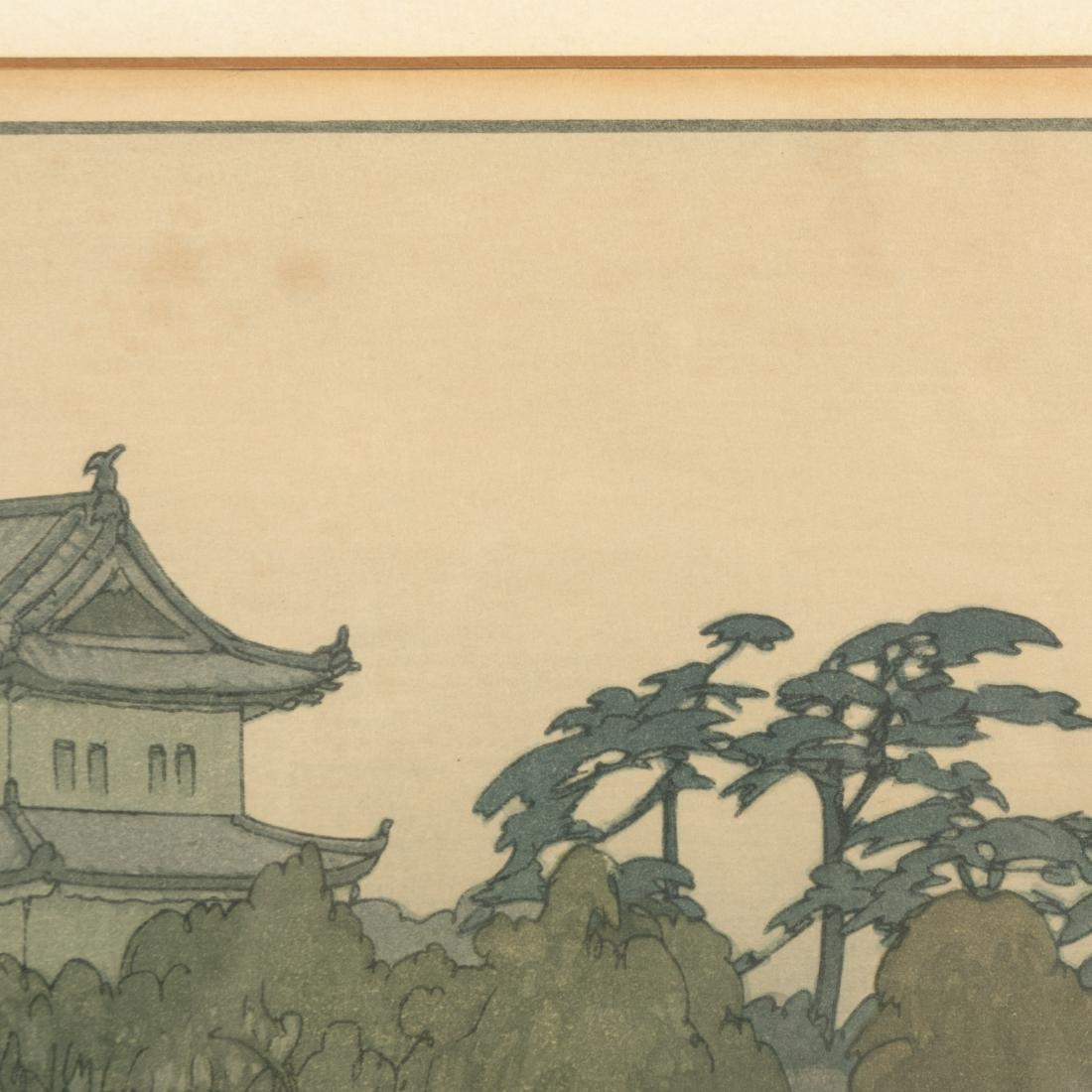 Hiroshi Yoshida - Ryu Honmura - Woodblock - 6