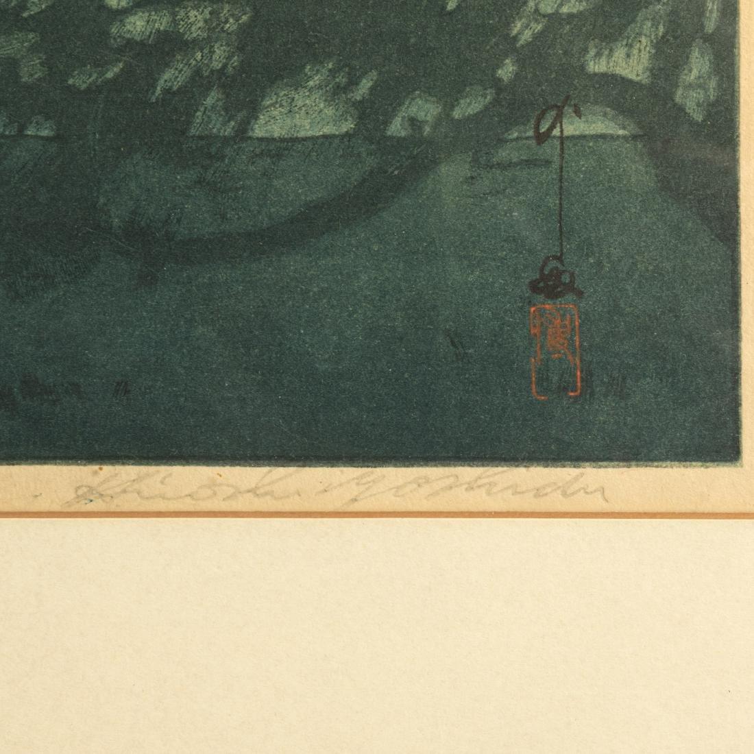 Hiroshi Yoshida - Chikugo River - Woodblock - 3