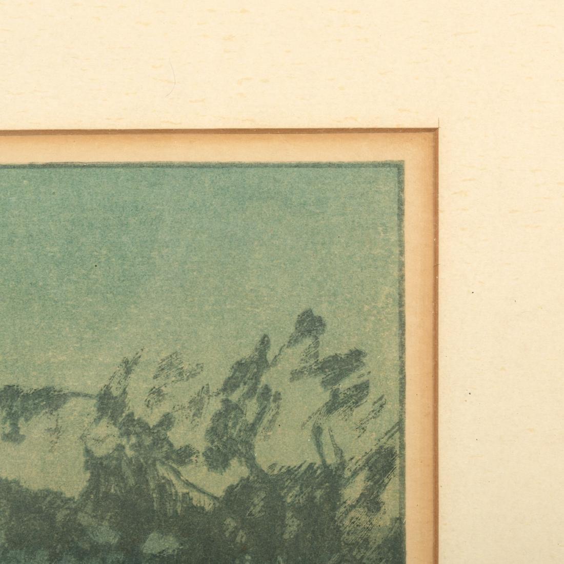 Hiroshi Yoshida - Chikugo River - Woodblock - 5