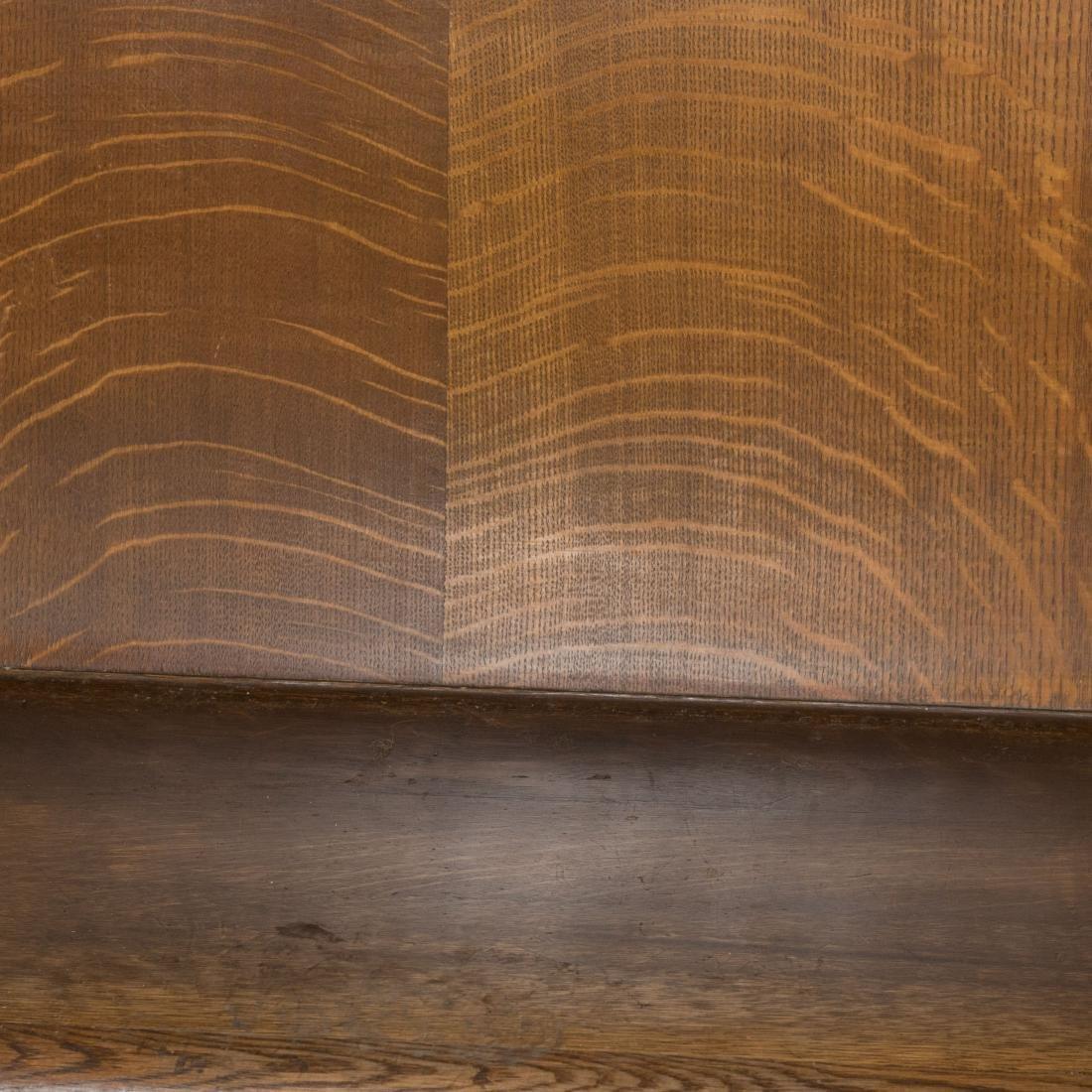 Oak Courtroom Bench - 2