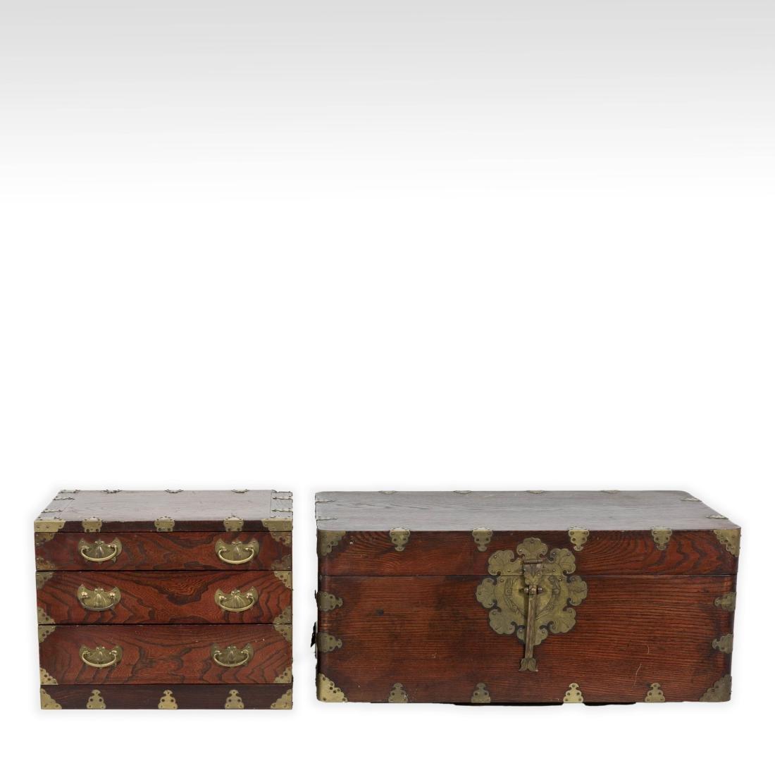 Oriental Box and Mini Chest