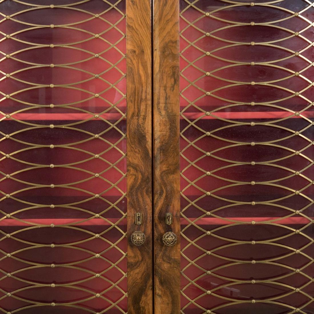 Burled English Art Deco Armoire - Epstein Brothers - 3