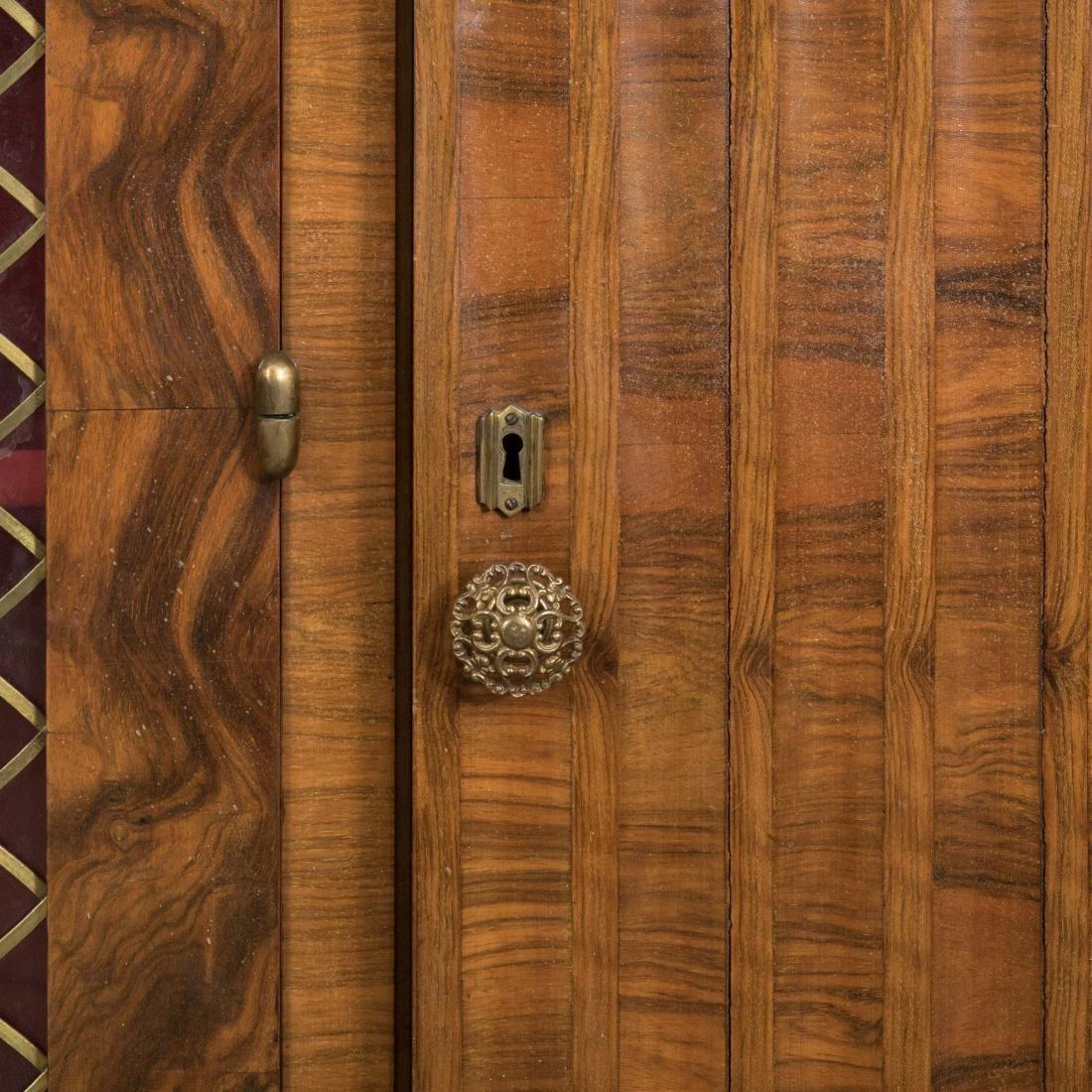 Burled English Art Deco Armoire - Epstein Brothers - 5