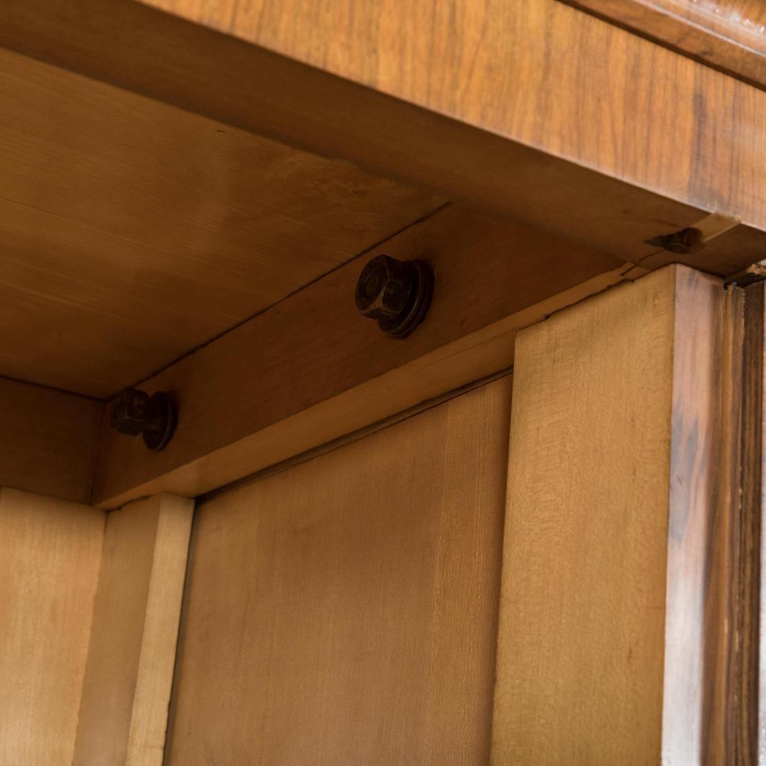 Burled English Art Deco Armoire - Epstein Brothers - 6