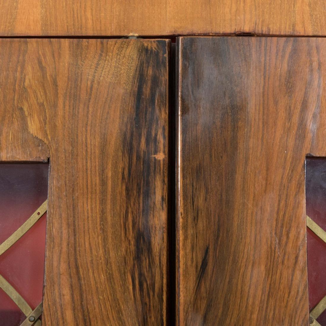 Burled English Art Deco Armoire - Epstein Brothers - 7