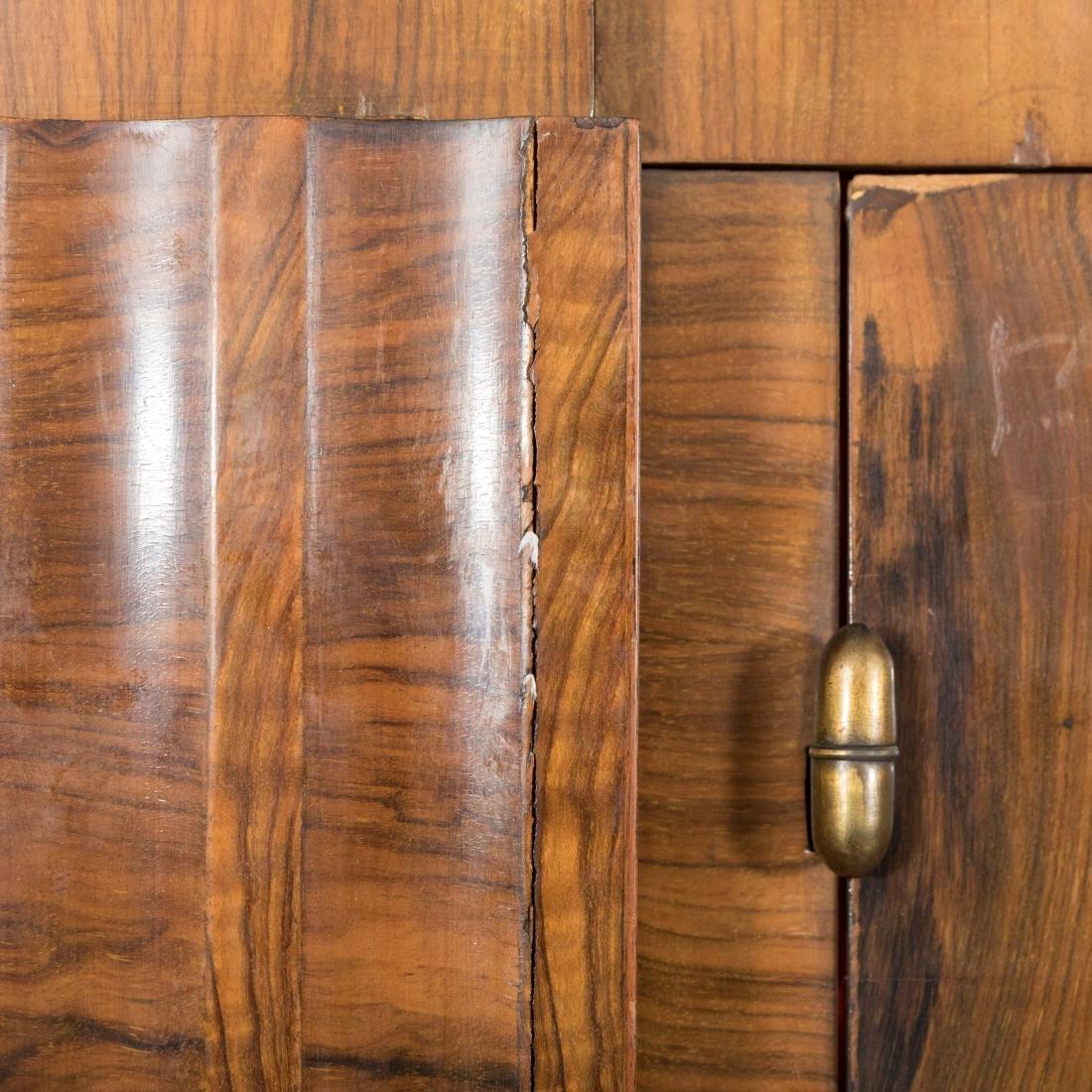 Burled English Art Deco Armoire - Epstein Brothers - 8