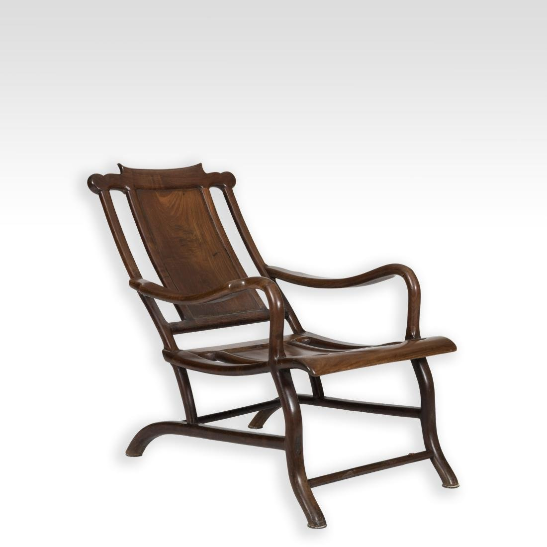 Chinese Yew Wood Plantation Chair