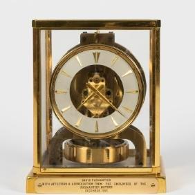Jaeger LeCoultre 15 Jewel Atmos Clock
