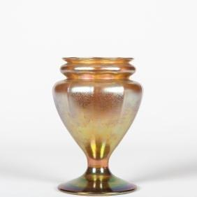 Louis Comfort Tiffany Baluster Vase - Favrile