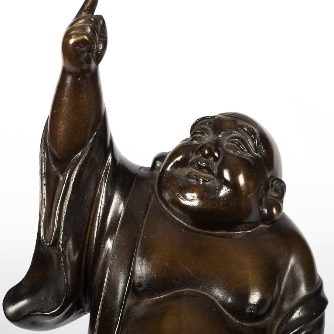 Japanese Bronze Standing Buddha - 2