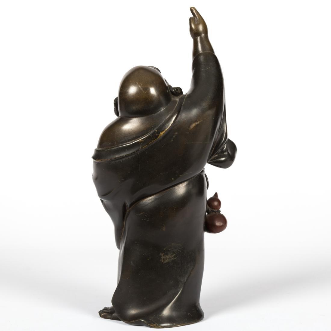 Japanese Bronze Standing Buddha - 4