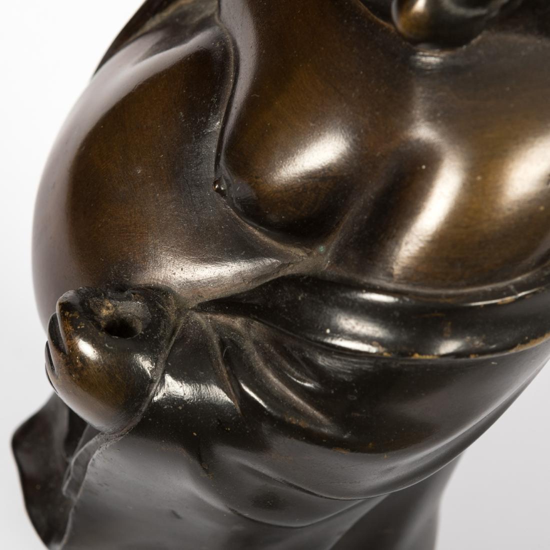 Japanese Bronze Standing Buddha - 5