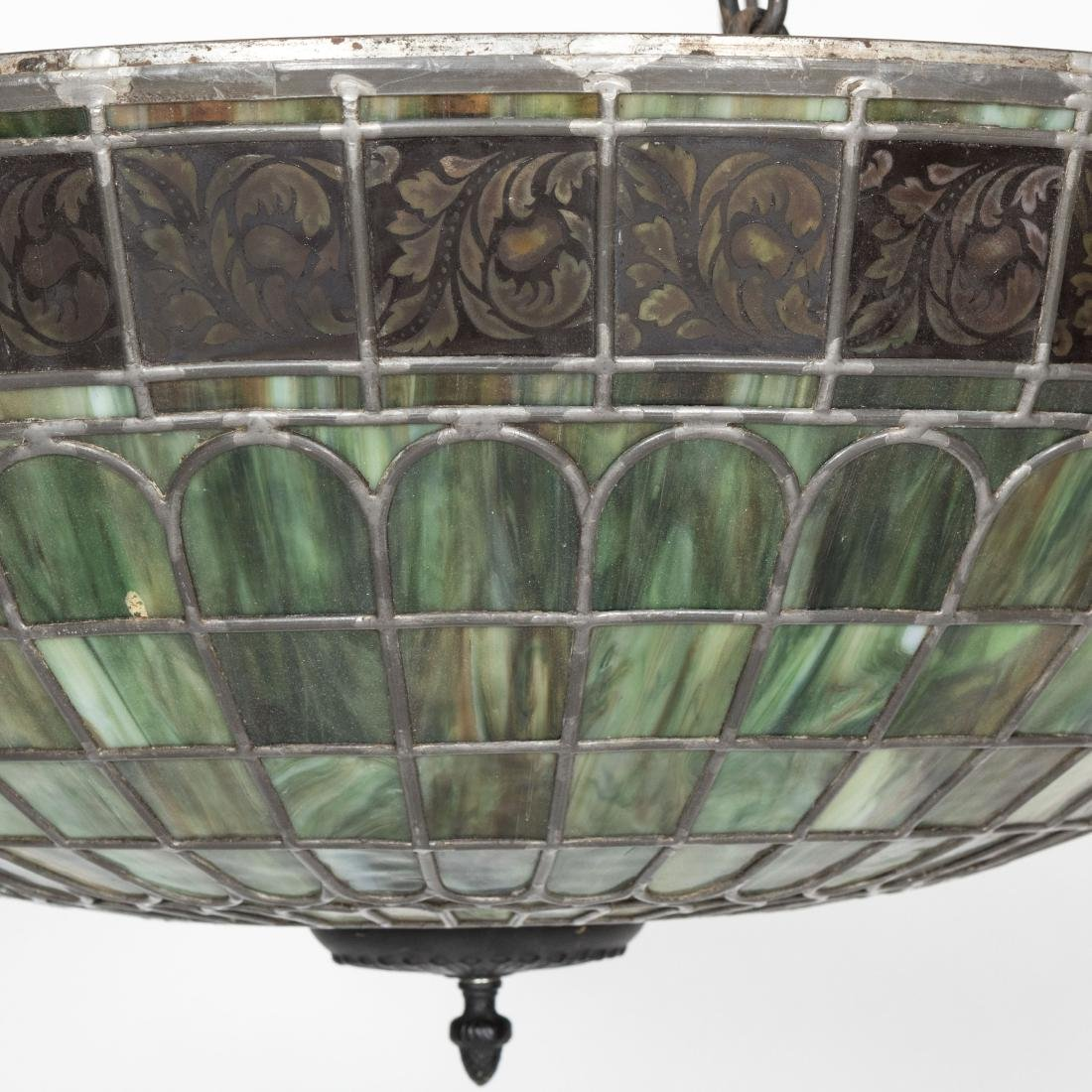 "31"" Glass Leaded Dome - 2"