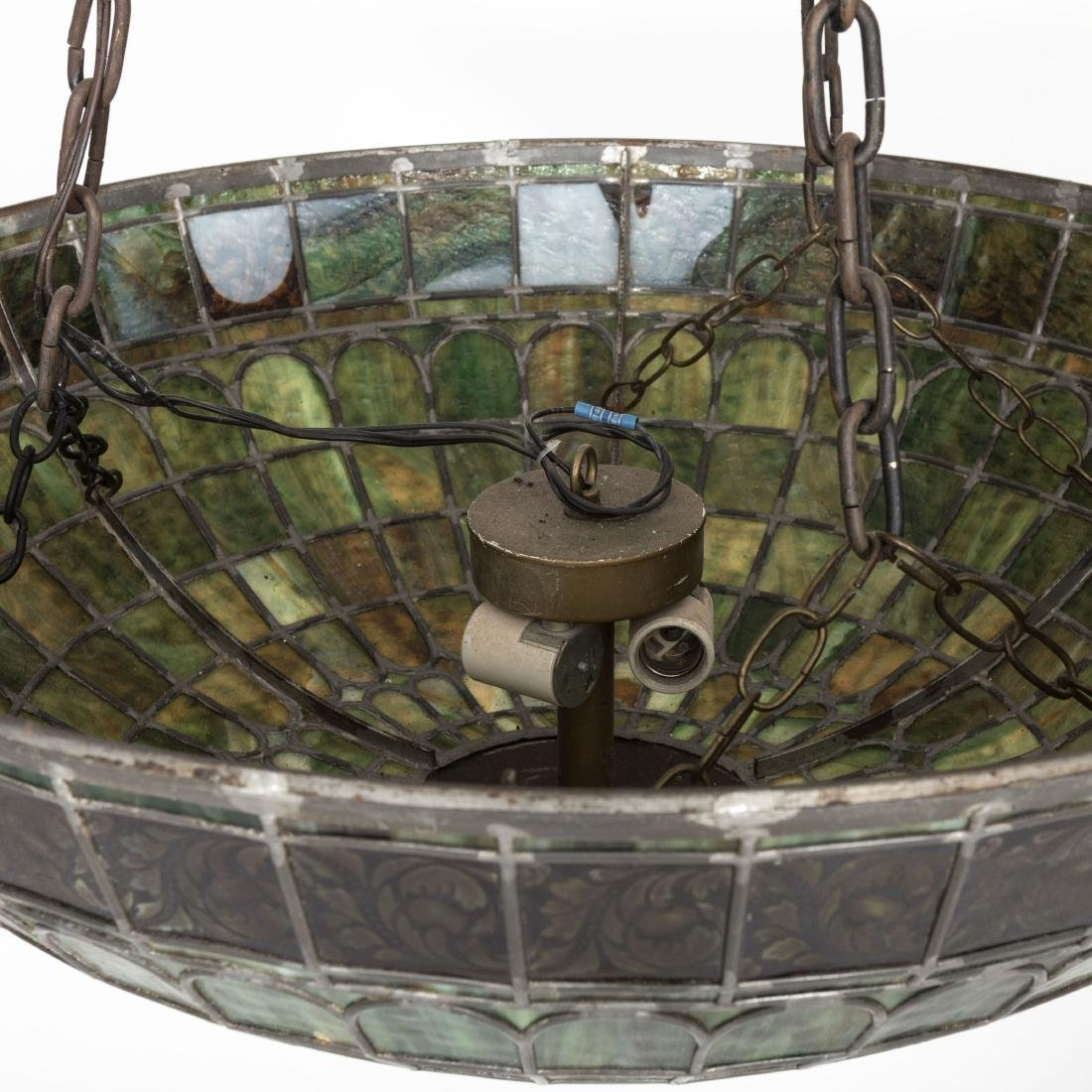 """31"""" Glass Leaded Dome - 3"""
