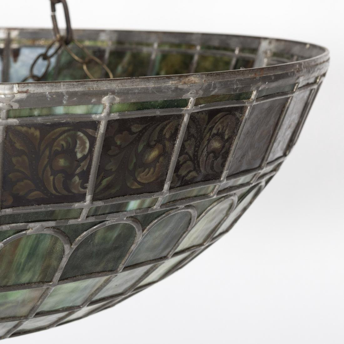 """31"""" Glass Leaded Dome - 2"""
