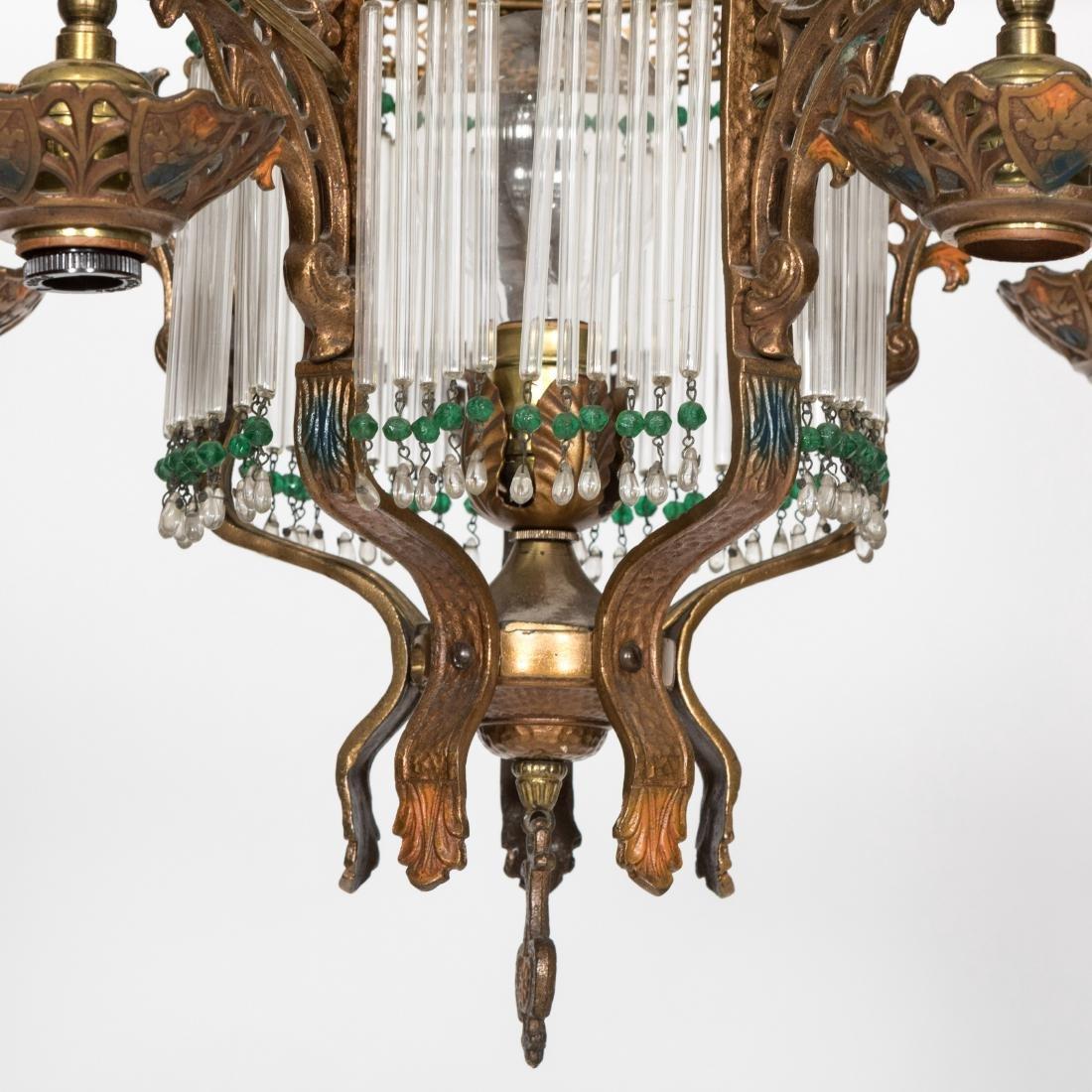 Art Deco Style Chandelier - 2