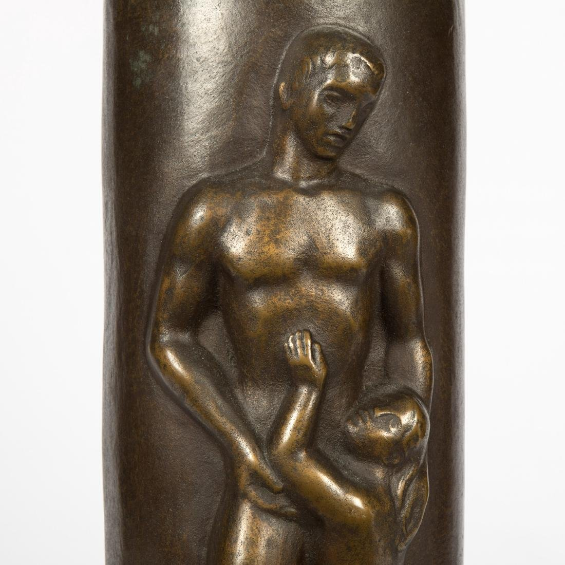 Concetta Scaravaglione - Bronze Figural Lamp - 2