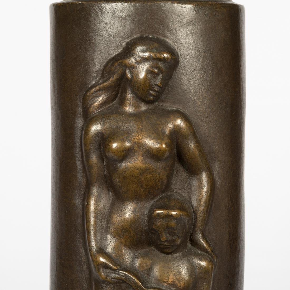 Concetta Scaravaglione - Bronze Figural Lamp - 5