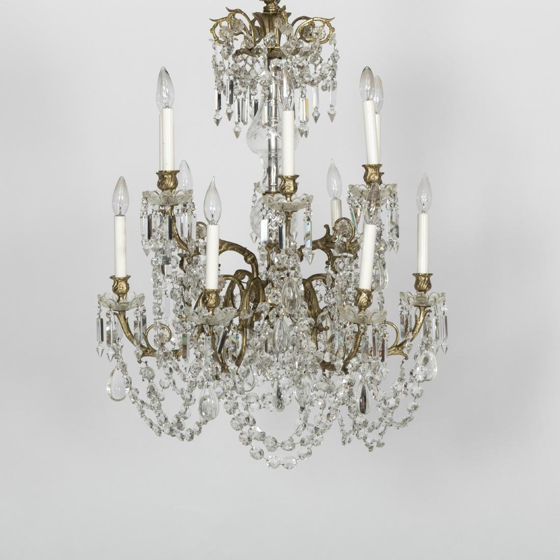 Twelve Arm French Style Chandelier