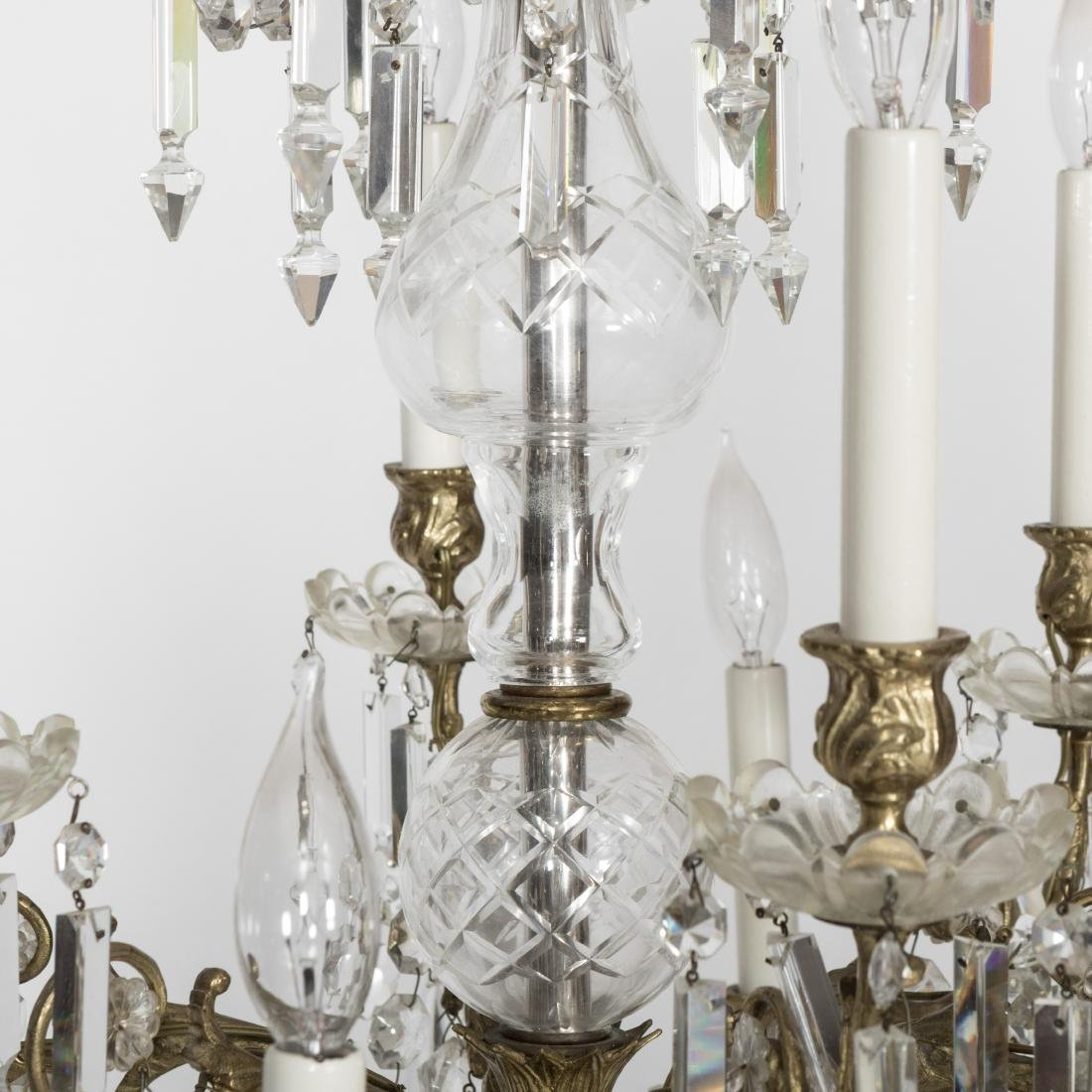 Twelve Arm French Style Chandelier - 2
