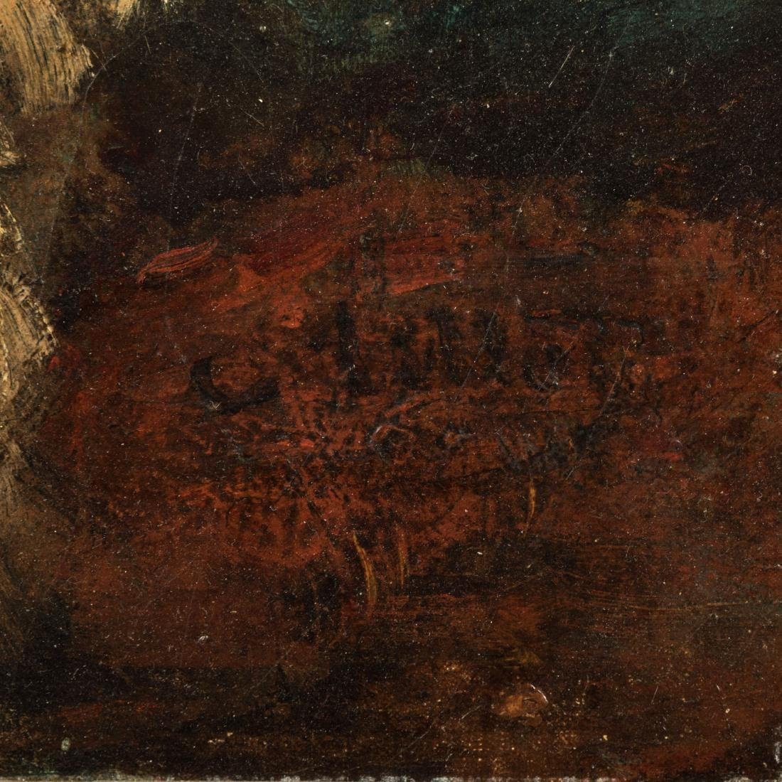 French Nude - Oil on Canvas - Illegibly Signed - 5