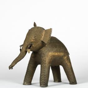Indian Bronze Elephant