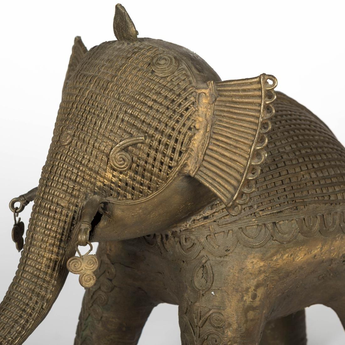 Indian Bronze Elephant - 2