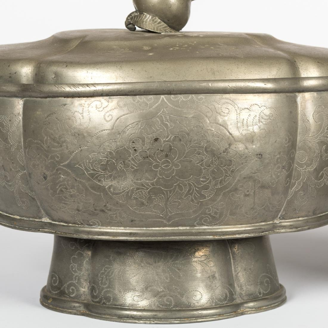 Pewter Jar and Tureen - 2