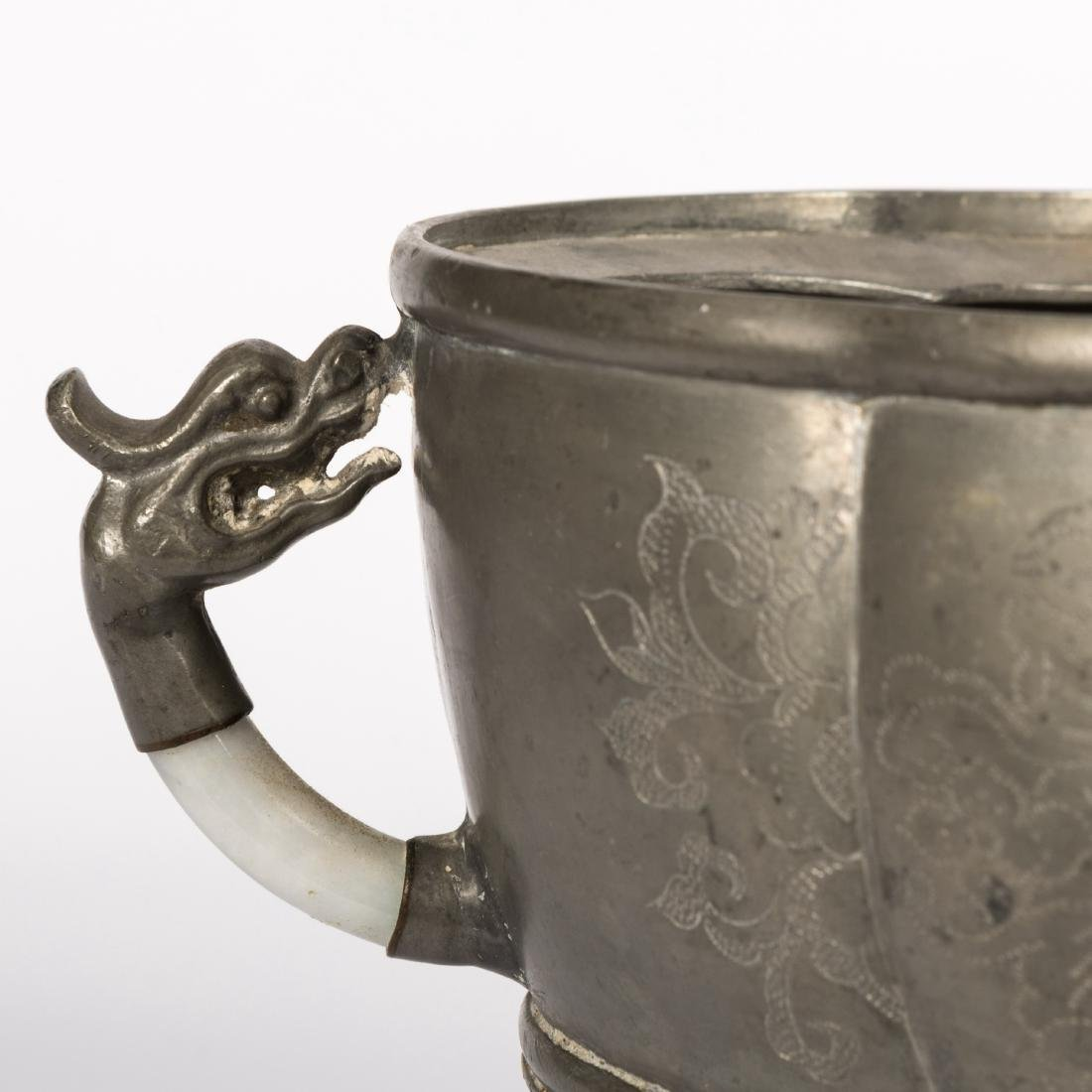 Pewter Jar and Tureen - 3