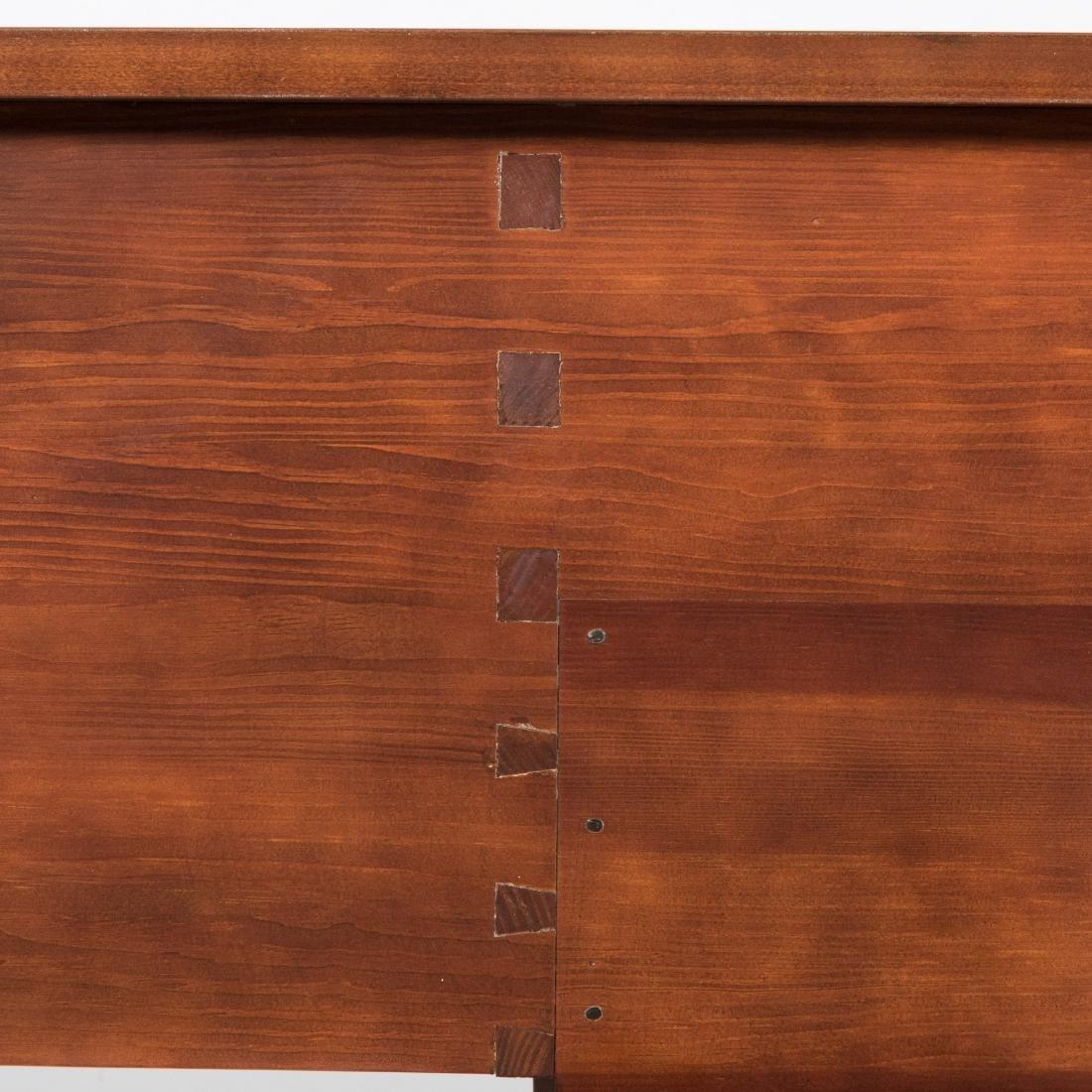Inlaid Mahogany Colonial Williamsburg Sideboard - 10
