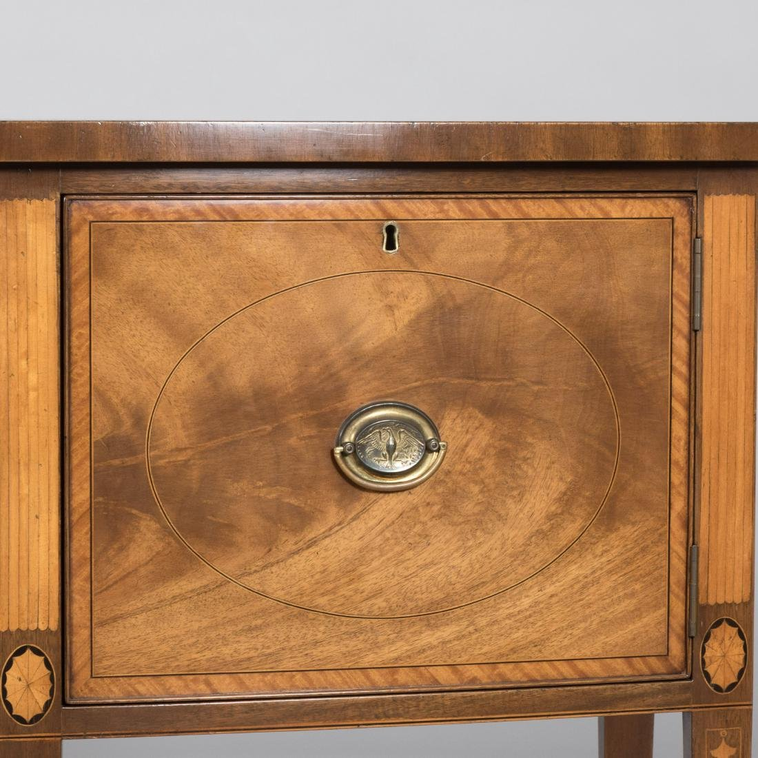 Inlaid Mahogany Colonial Williamsburg Sideboard - 2