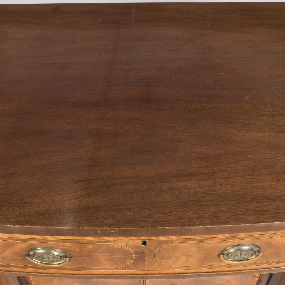 Inlaid Mahogany Colonial Williamsburg Sideboard - 7