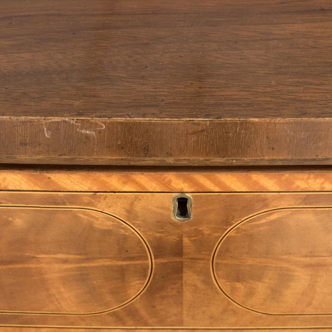 Inlaid Mahogany Colonial Williamsburg Sideboard - 8