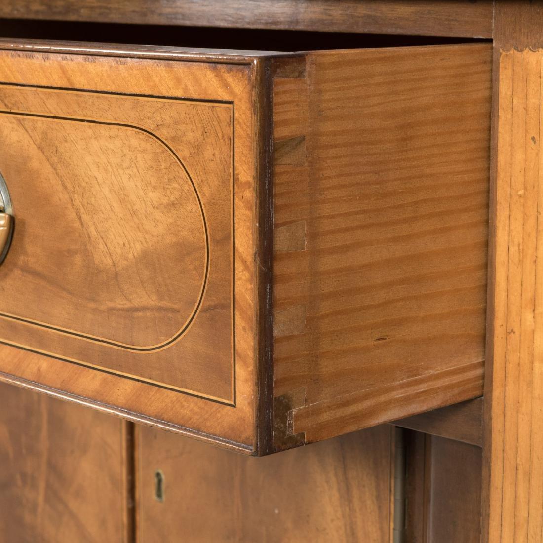 Inlaid Mahogany Colonial Williamsburg Sideboard - 9